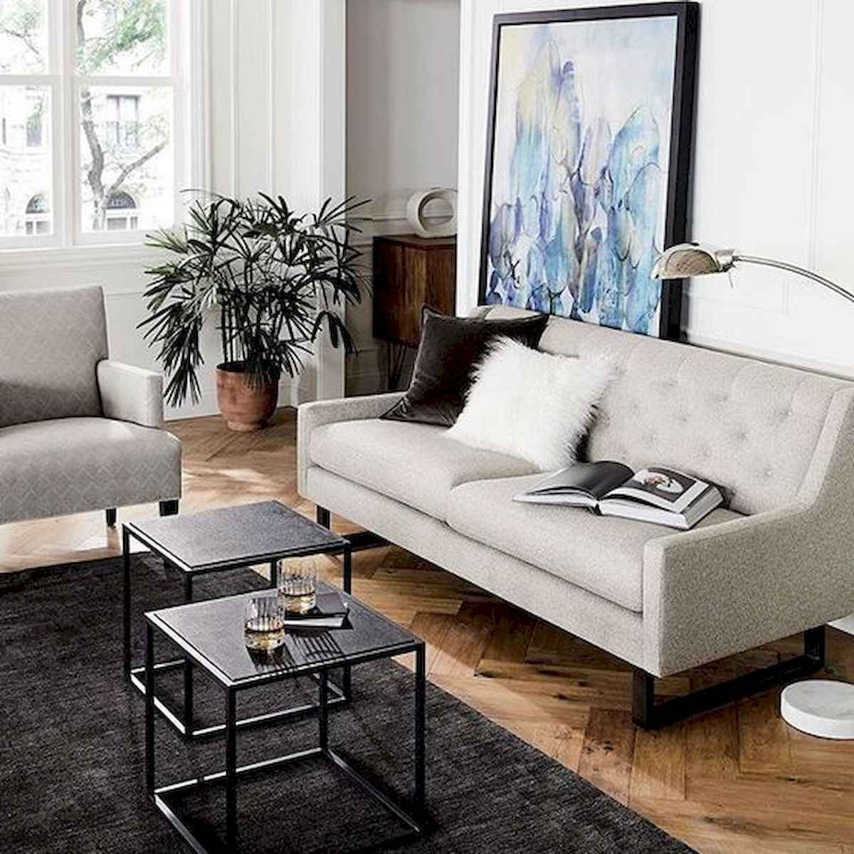 50+ Genius Small Living Room Decor Ideas And Remodel for Your First Apartment (5)