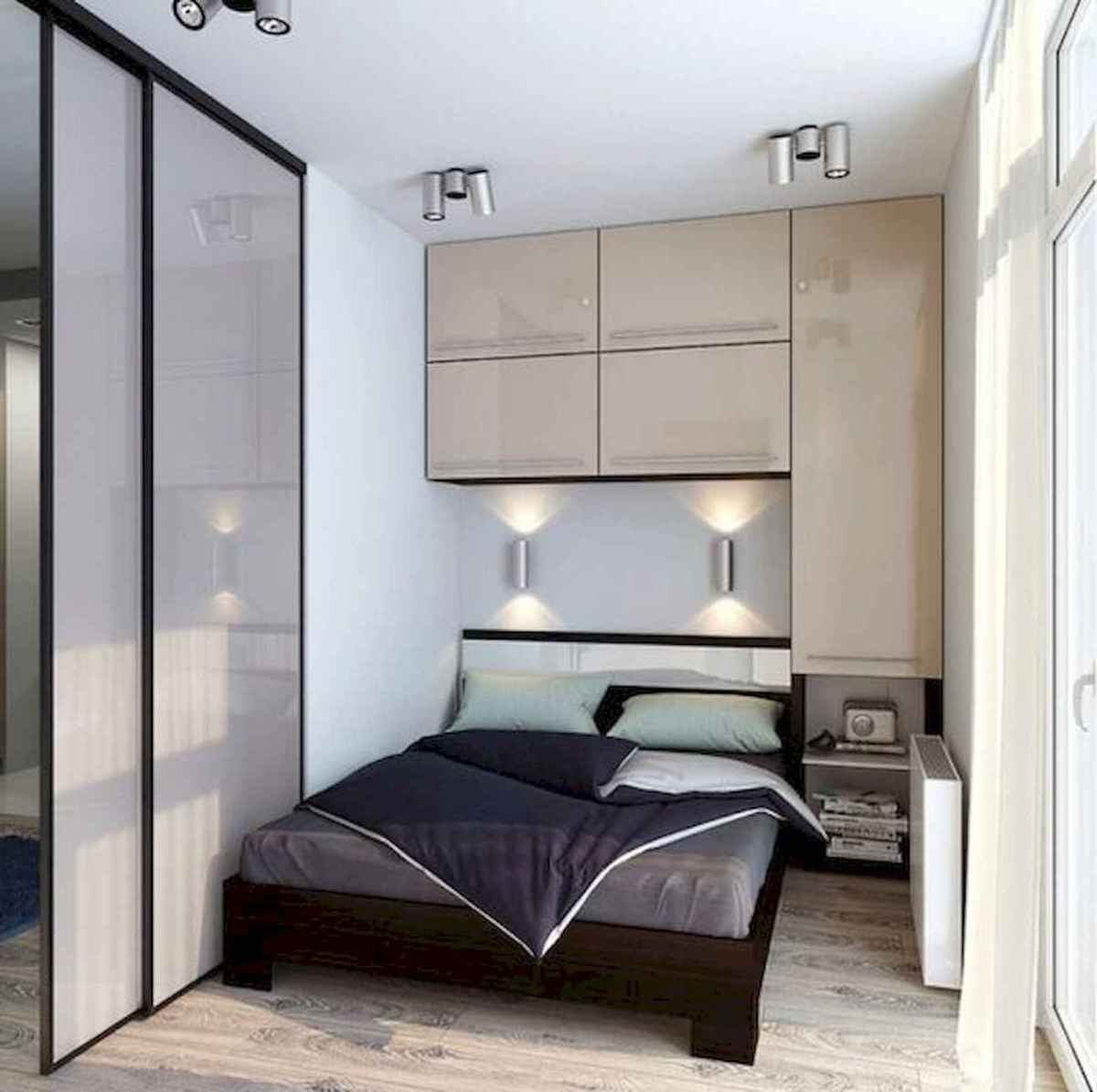 50 Stunning Small Apartment Bedroom Design Ideas and Decor (35)