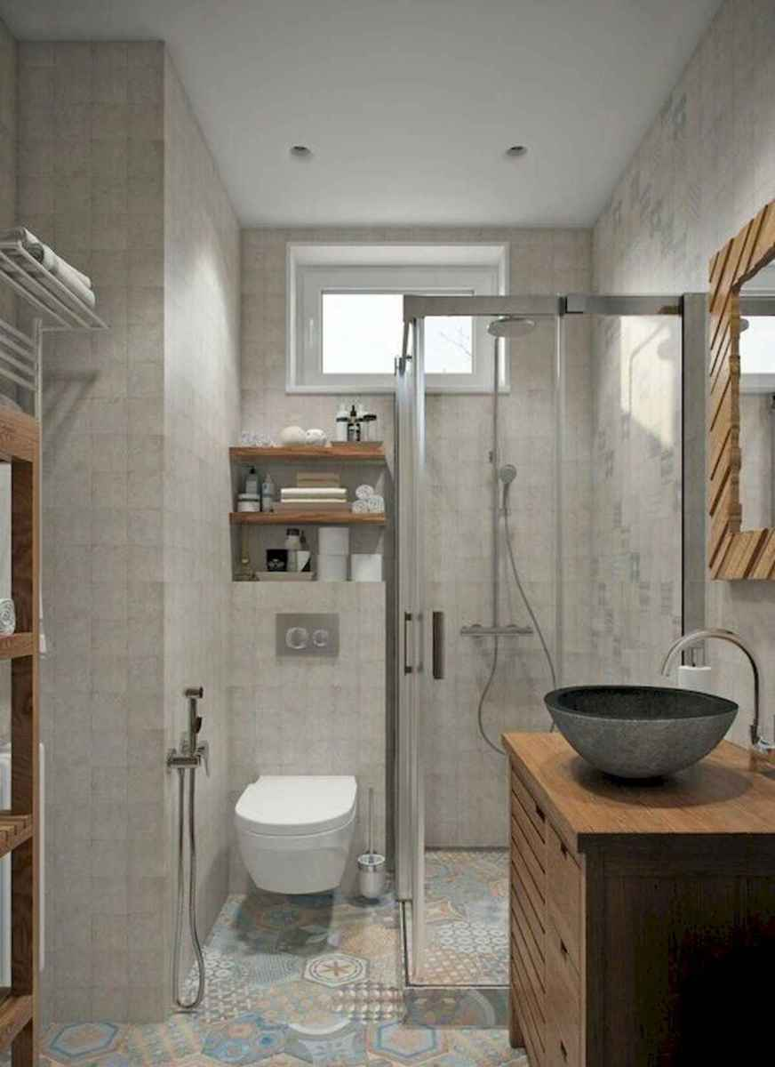 50 Stunning Small Bathroom Makeover Ideas (23)