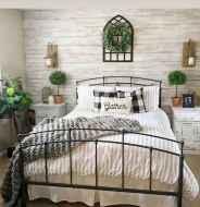 60 Adorable Modern Farmhouse Bedroom Design Ideas and Decor (43)