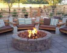 60 Creative Backyard Fire Pit Ideas (56)