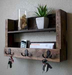 60 Fantastic DIY Projects Pallet Key Rack Design Ideas (35)