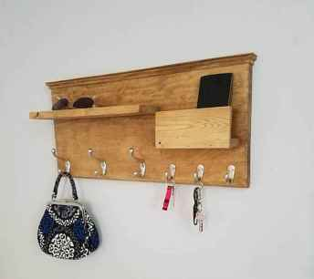 60 Fantastic DIY Projects Pallet Key Rack Design Ideas (56)