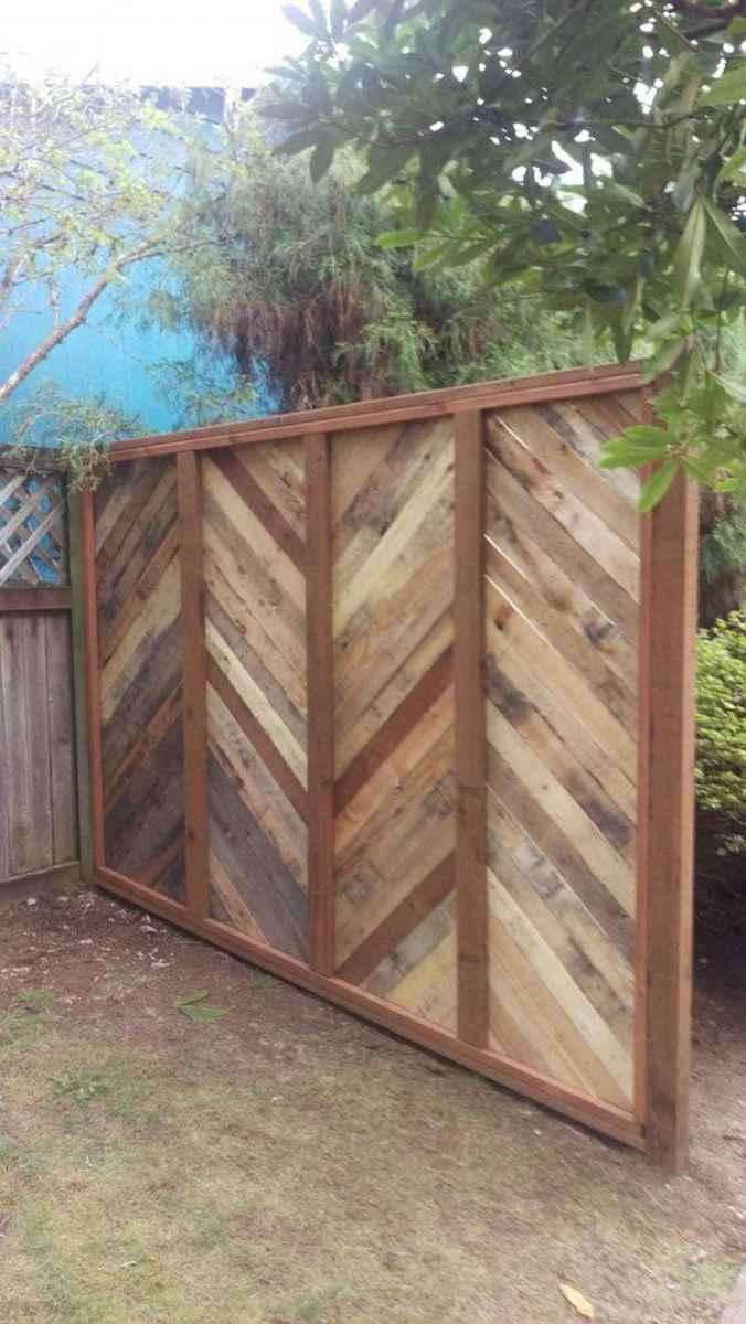 60 Gorgeous DIY Projects Pallet Fence Design Ideas (2)