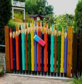 60 Gorgeous DIY Projects Pallet Fence Design Ideas (22)