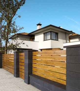 60 Gorgeous DIY Projects Pallet Fence Design Ideas (37)