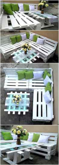60 Stunning DIY Projects Pallet Sofa Design Ideas (24)