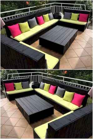 60 Stunning DIY Projects Pallet Sofa Design Ideas (43)