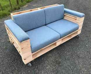 60 Stunning DIY Projects Pallet Sofa Design Ideas (49)