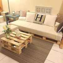 60 Stunning DIY Projects Pallet Sofa Design Ideas (57)