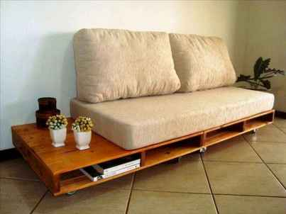 60 Stunning DIY Projects Pallet Sofa Design Ideas (9)