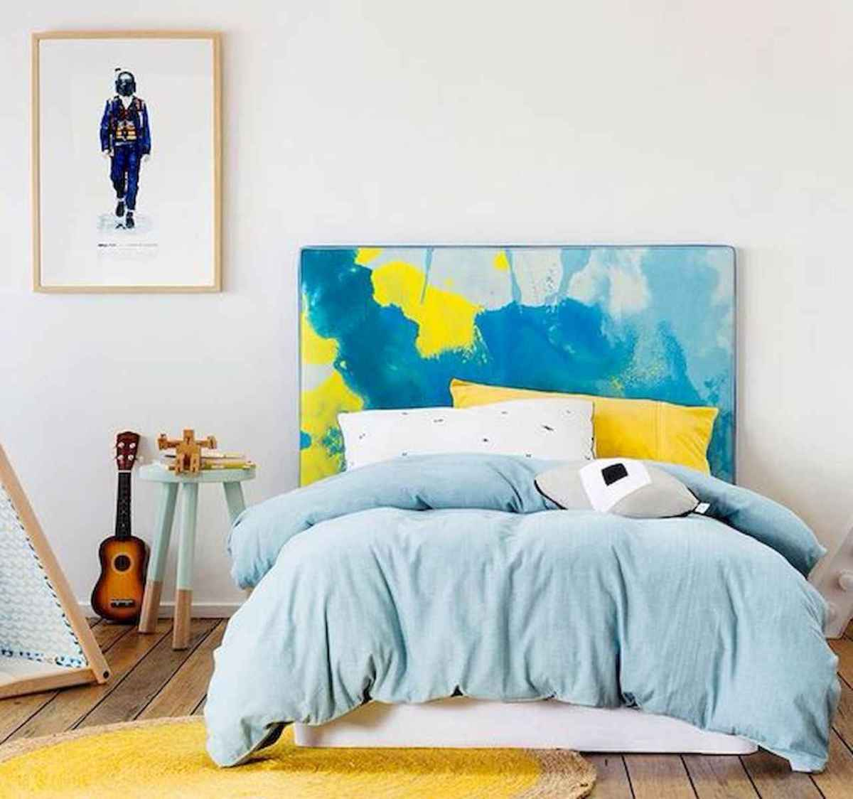 70+ Amazing Colorful Bedroom Decor Ideas And Remodel for Summer Project (13)