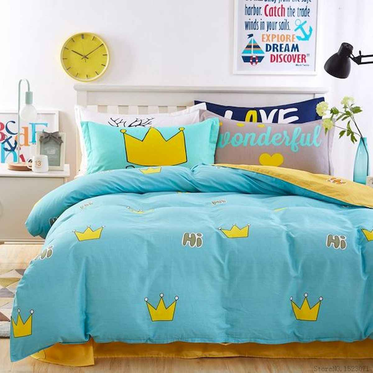 70+ Amazing Colorful Bedroom Decor Ideas And Remodel for Summer Project (4)