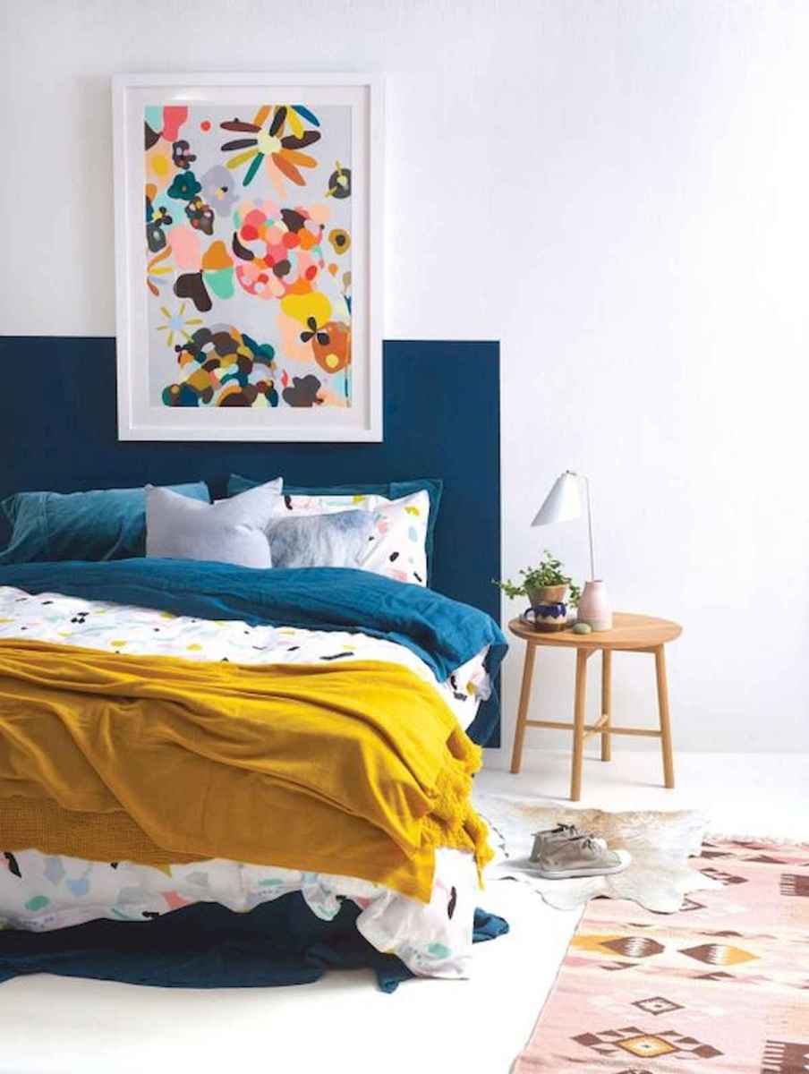 70+ Amazing Colorful Bedroom Decor Ideas And Remodel for Summer Project (41)