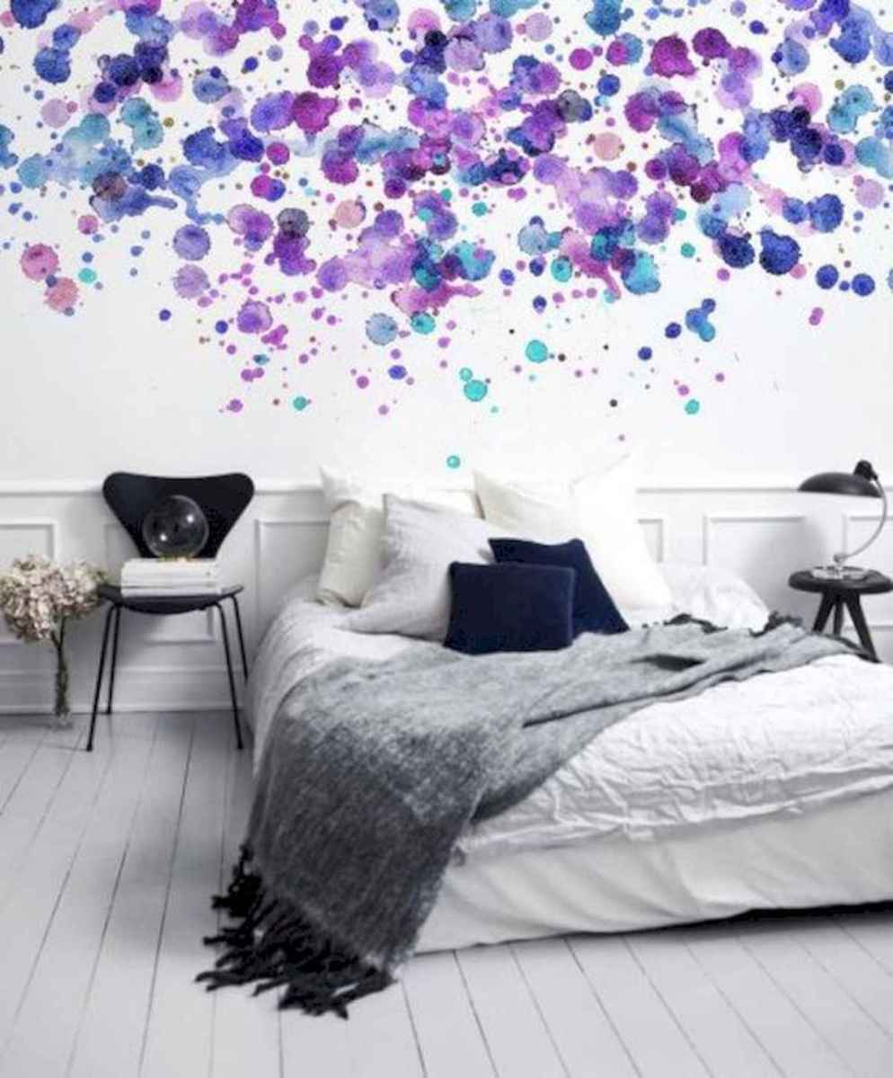 70+ Amazing Colorful Bedroom Decor Ideas And Remodel for Summer Project (45)
