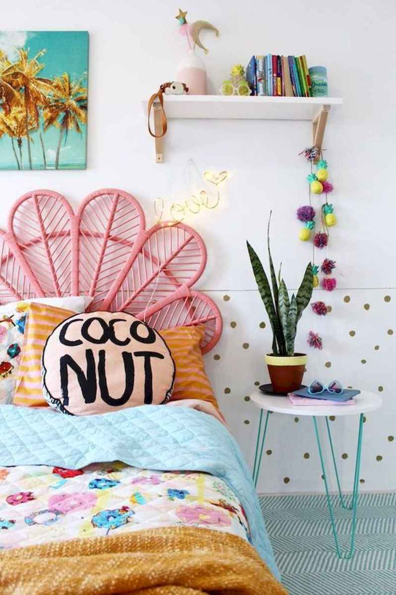 70+ Amazing Colorful Bedroom Decor Ideas And Remodel for Summer Project (49)