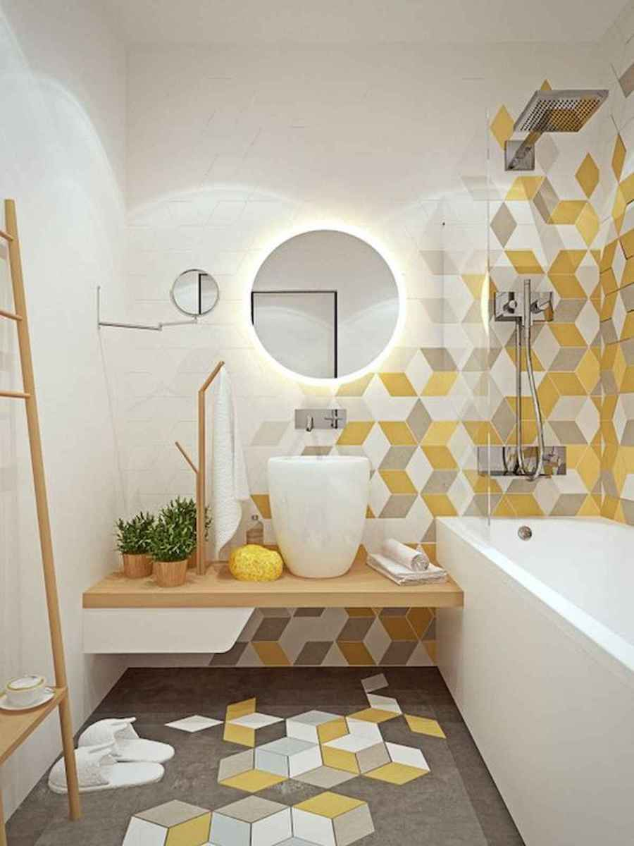 70+ Cool Colorful Bathroom Decor Ideas And Remodel for Summer Project (27)