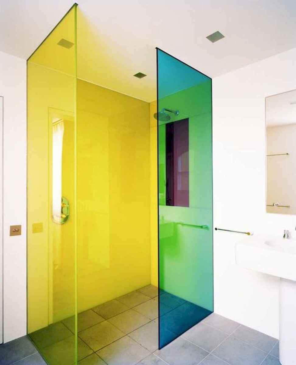 70+ Cool Colorful Bathroom Decor Ideas And Remodel for Summer Project (32)