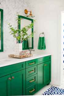 70+ Cool Colorful Bathroom Decor Ideas And Remodel for Summer Project (37)