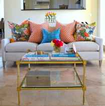 70 Fantastic Summer Living Room Decor Ideas (11)