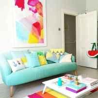 70 Fantastic Summer Living Room Decor Ideas (22)