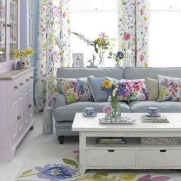 70 Fantastic Summer Living Room Decor Ideas (26)