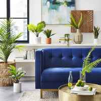 70 Fantastic Summer Living Room Decor Ideas (34)