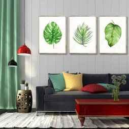 70 Fantastic Summer Living Room Decor Ideas (37)