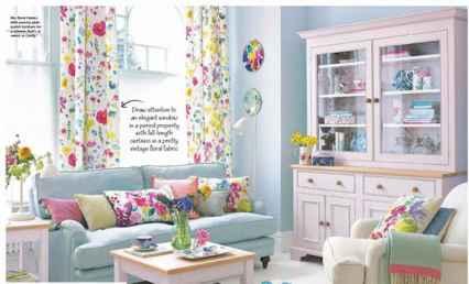 70 Fantastic Summer Living Room Decor Ideas (48)