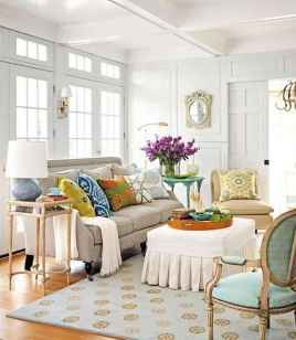 70 Fantastic Summer Living Room Decor Ideas (55)
