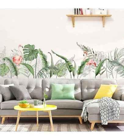 70 Fantastic Summer Living Room Decor Ideas (58)