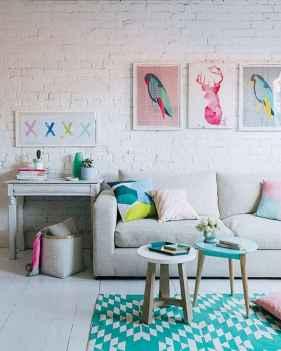 70 Fantastic Summer Living Room Decor Ideas (6)