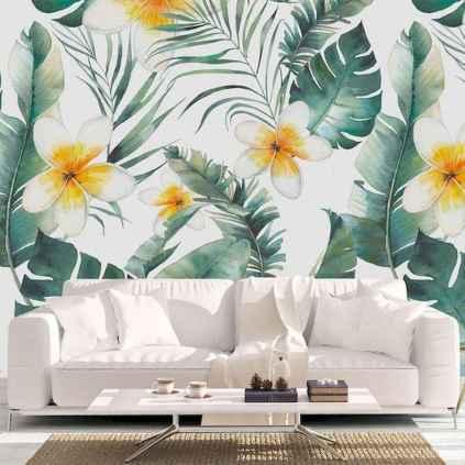 70 Fantastic Summer Living Room Decor Ideas (9)