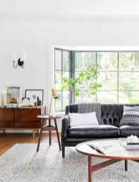 70 Stunning Grey White Black Living Room Decor Ideas And Remodel (27)
