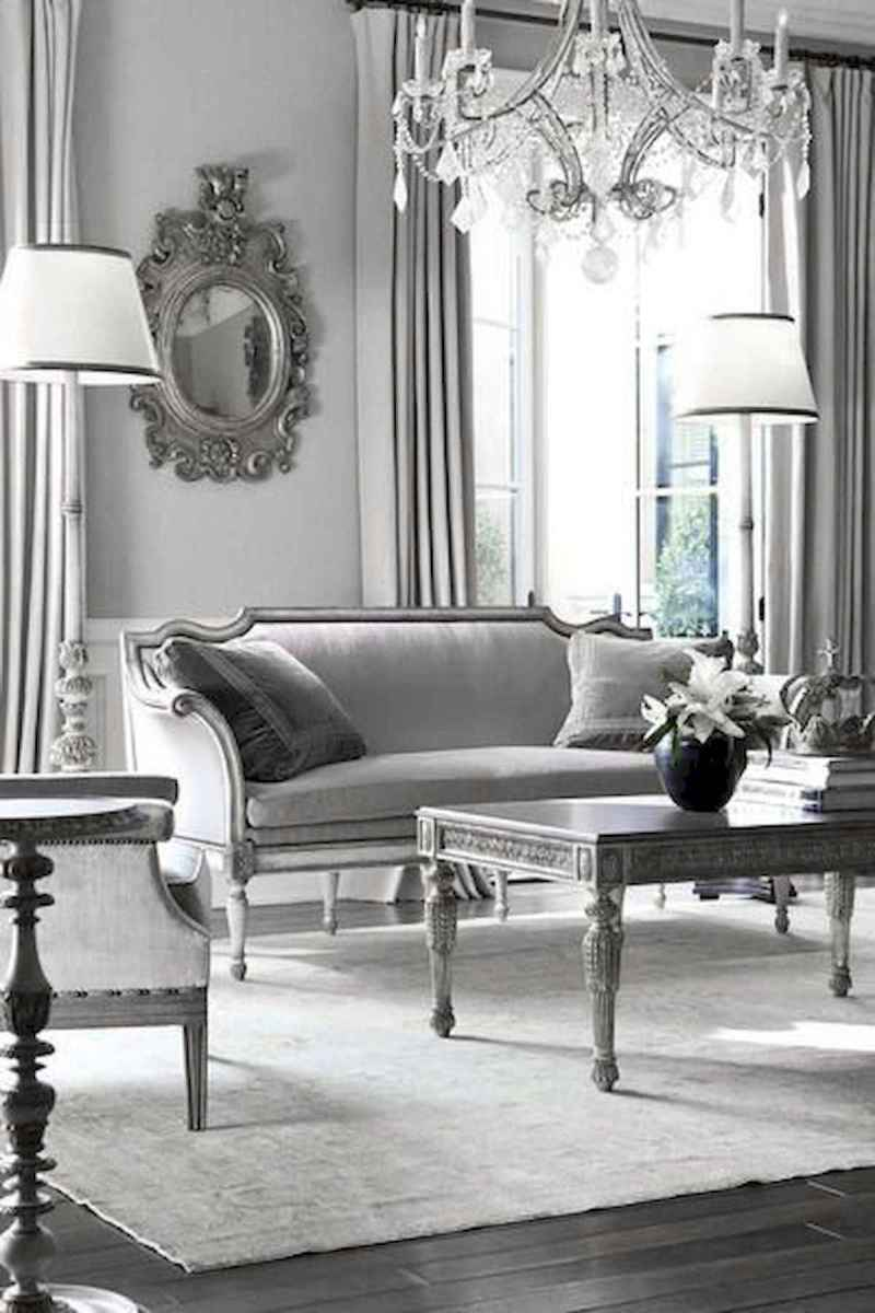 70 Stunning Grey White Black Living Room Decor Ideas And Remodel (55)