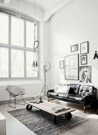 70 Stunning Grey White Black Living Room Decor Ideas And Remodel (70)