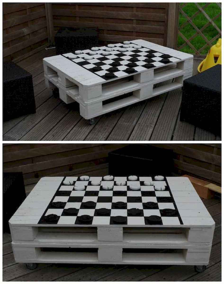 70 Suprising DIY Projects Mini Pallet Coffee Table Design Ideas (12)