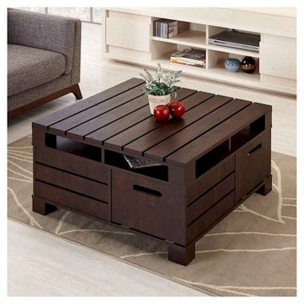 70 Suprising DIY Projects Mini Pallet Coffee Table Design Ideas (13)