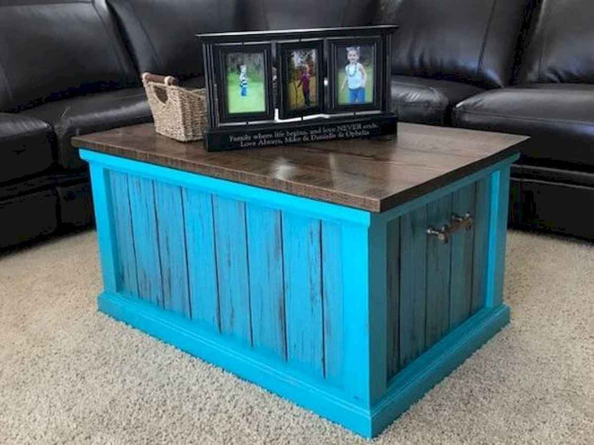 70 Suprising DIY Projects Mini Pallet Coffee Table Design Ideas (22)