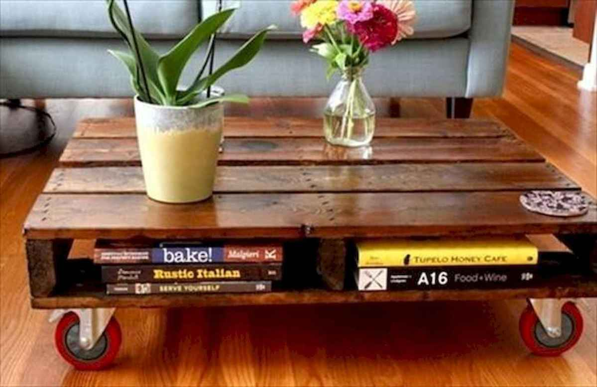 70 Suprising DIY Projects Mini Pallet Coffee Table Design Ideas (23)