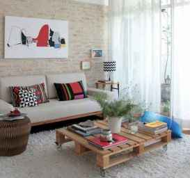 70 Suprising DIY Projects Mini Pallet Coffee Table Design Ideas (35)