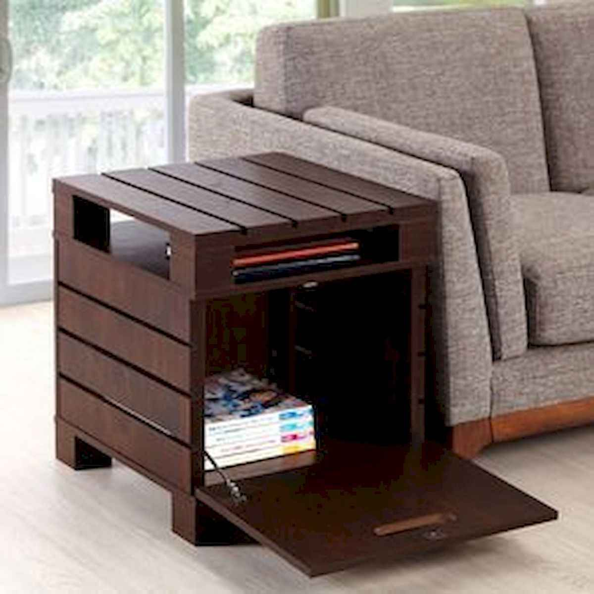 70 Suprising DIY Projects Mini Pallet Coffee Table Design Ideas (42)