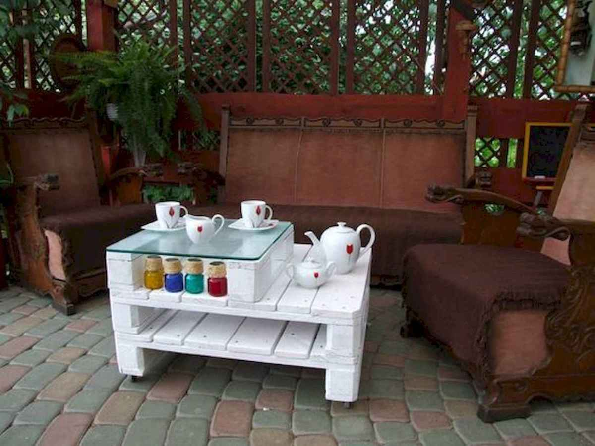 70 Suprising DIY Projects Mini Pallet Coffee Table Design Ideas (45)