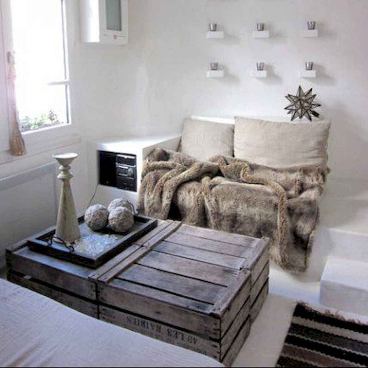 70 Suprising DIY Projects Mini Pallet Coffee Table Design Ideas (51)
