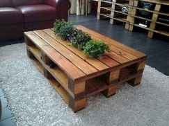 70 Suprising DIY Projects Mini Pallet Coffee Table Design Ideas (53)