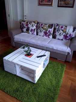 70 Suprising DIY Projects Mini Pallet Coffee Table Design Ideas (7)