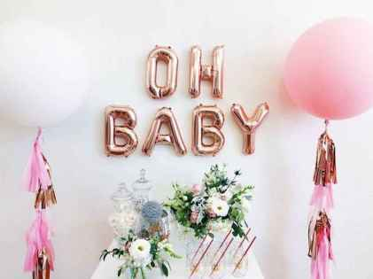 80 Cute Baby Shower Ideas for Girls (45)