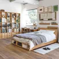 80 Fantastic Small Apartment Bedroom College Design Ideas and Decor (40)