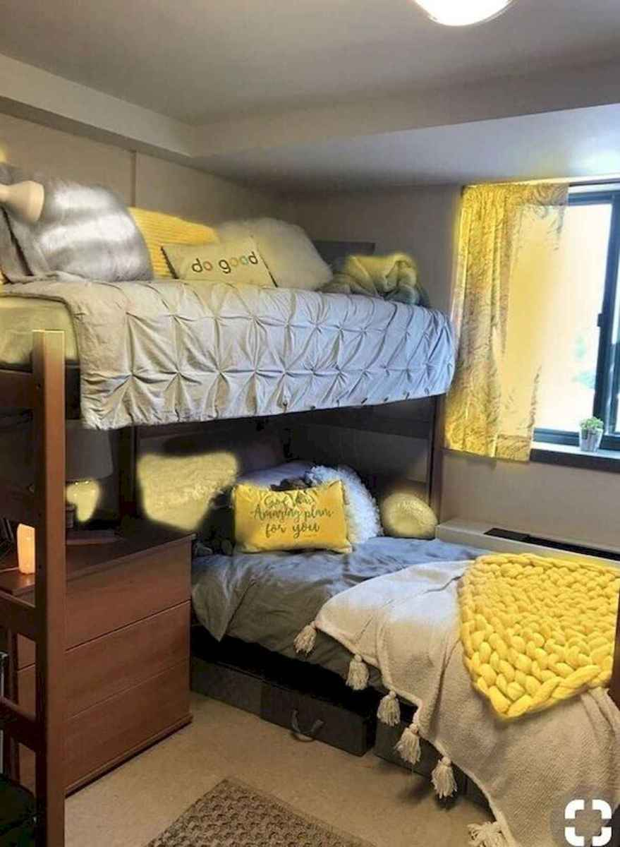 80 Fantastic Small Apartment Bedroom College Design Ideas and Decor (44)