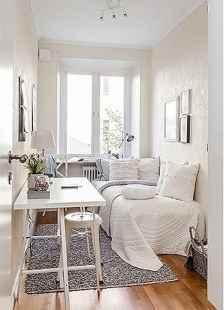 80 Fantastic Small Apartment Bedroom College Design Ideas and Decor (65)